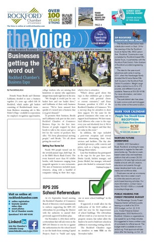 October Voice 2014 By Rockford Chamber Of Commerce Issuu