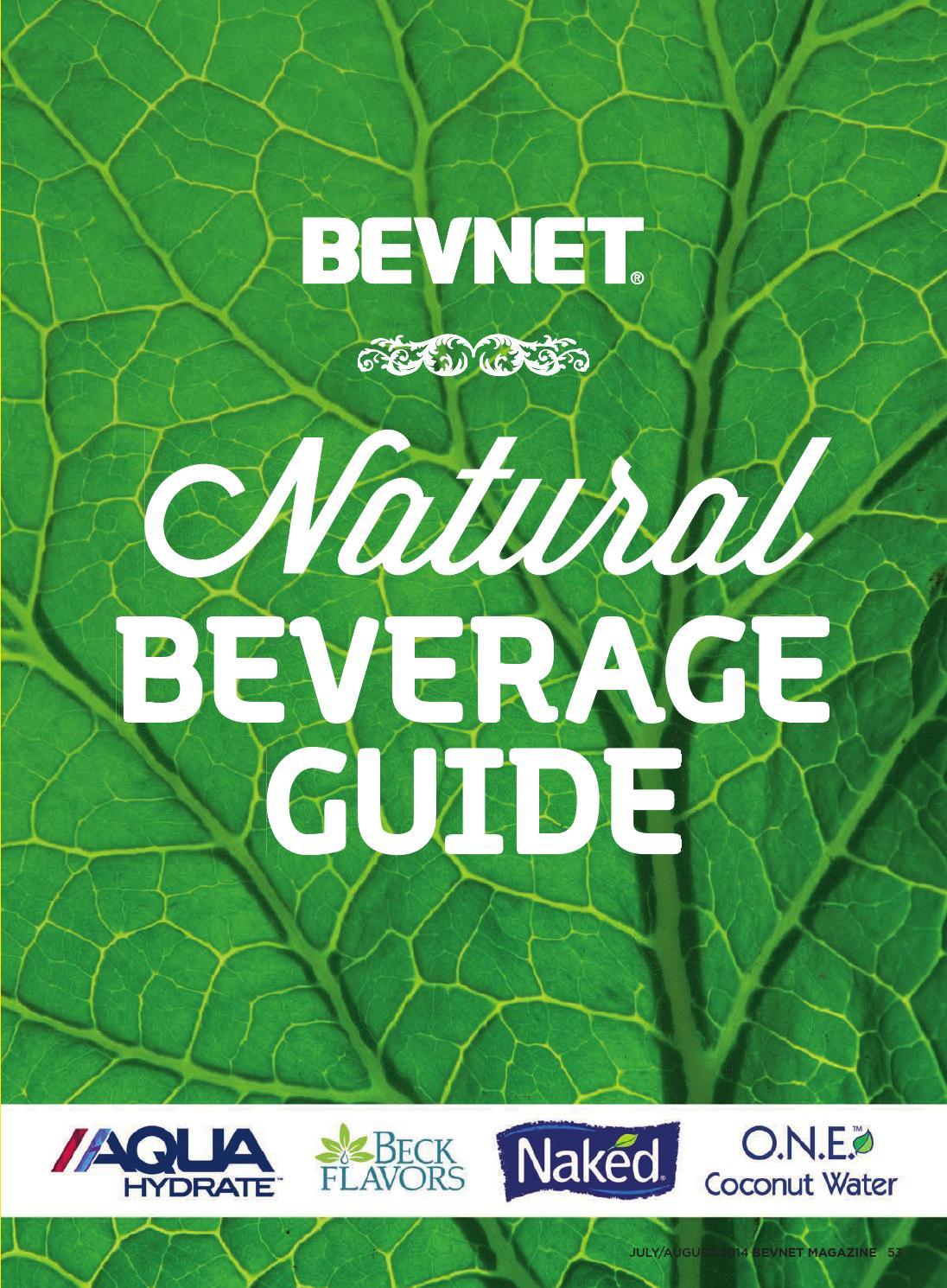 2014 Natural Beverage Guide By Bevnetcom Issuu Picco Latte Matcha Green Tea Can