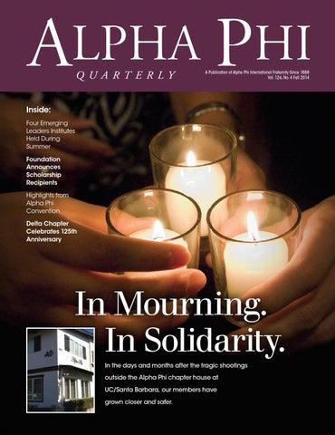 Fall 2014 Alpha Phi Quarterly by Alpha Phi International
