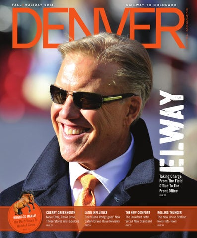 7bcbf561ee61 Denver Hotel Magazine - Fall+Holiday 2014 by Dallas Hotel Magazine ...