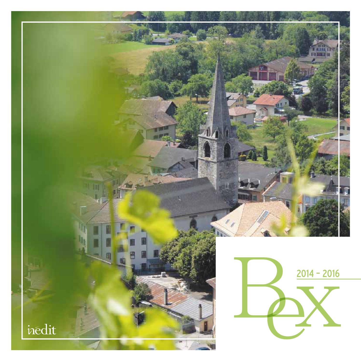 Brochure communale de Bex 2014-2016 by Inédit Publications
