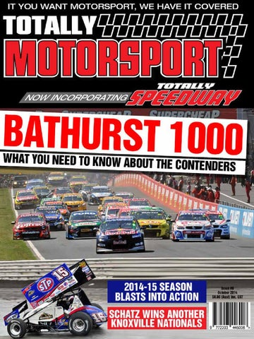 the launch issue of the new look totally motorsport and totally