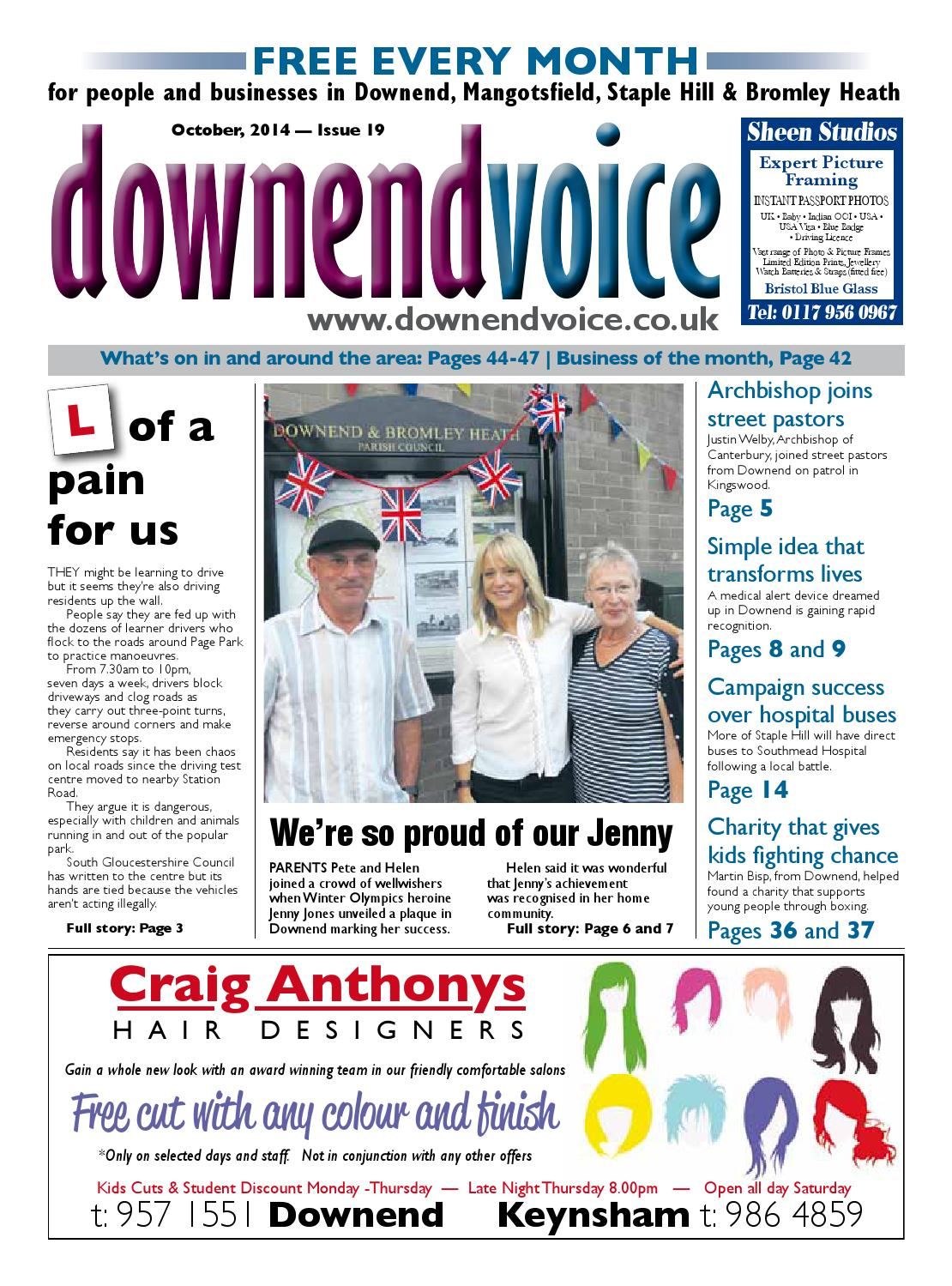 Downend Voice October 2014 By Gary Brindle Issuu