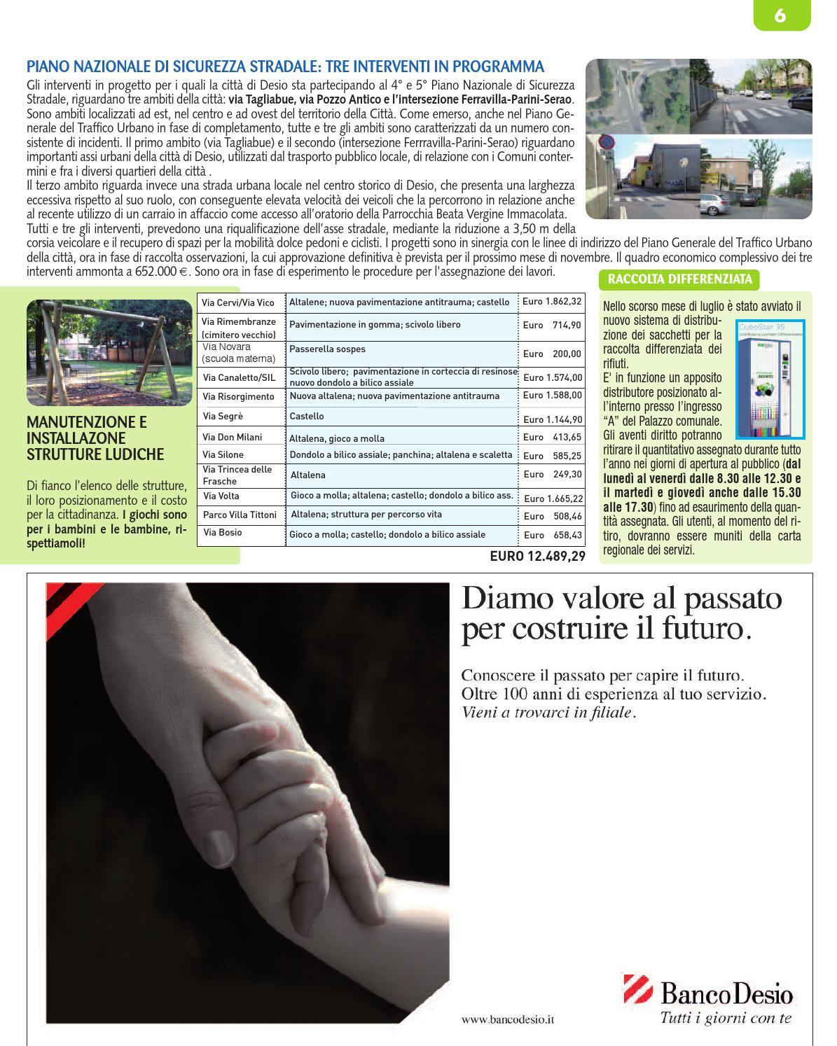 Via Trincea Delle Frasche Desio giornale comunale di desio by lime edizioni srl - issuu