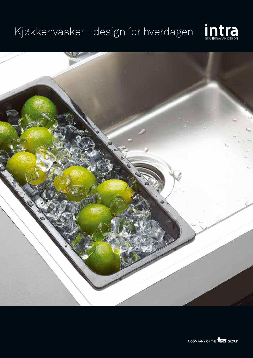 Intra vask by Arcus Kjøkkenfornying AS - Issuu