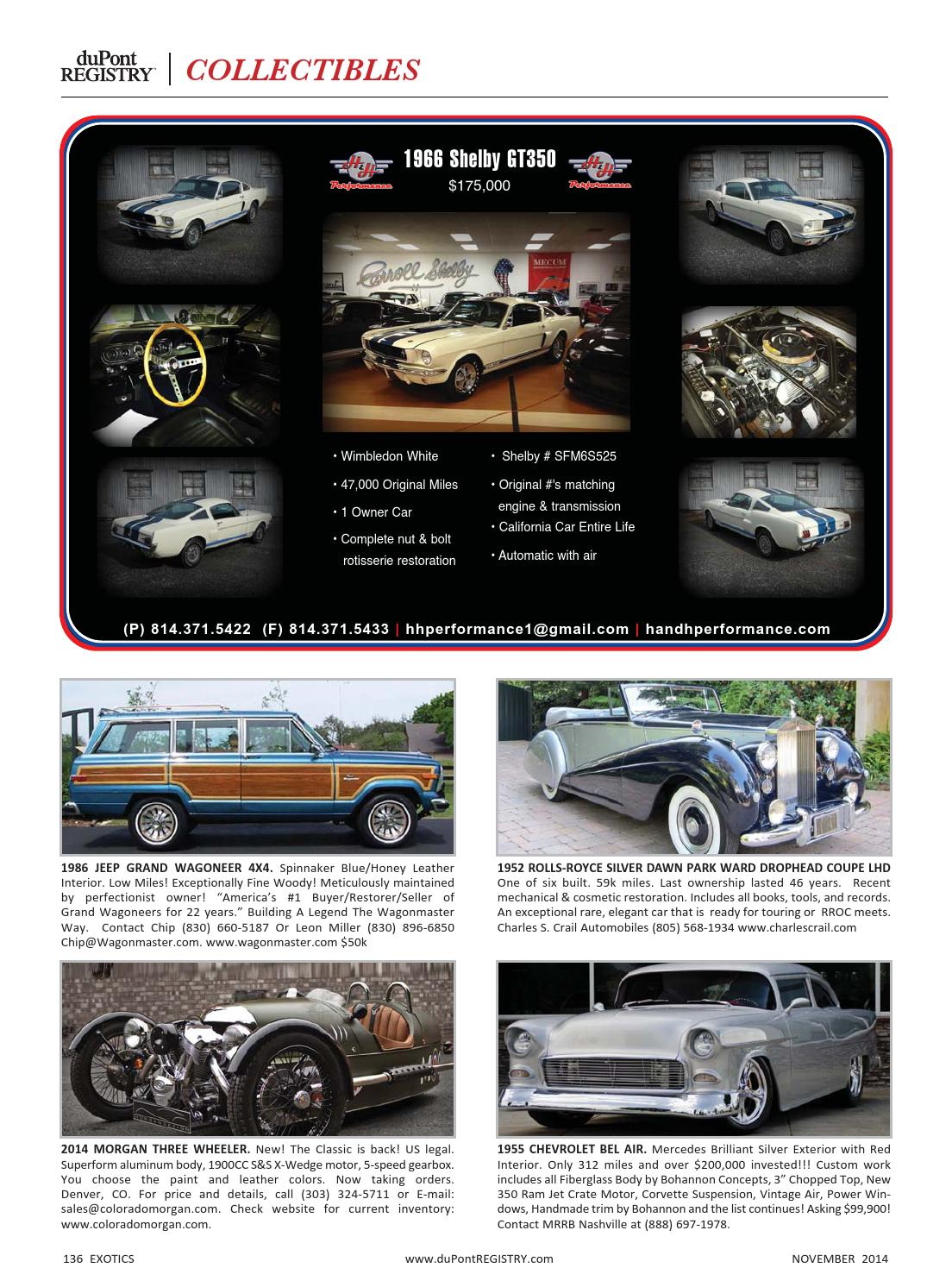 duPontREGISTRY Autos November 2014 by duPont REGISTRY - issuu