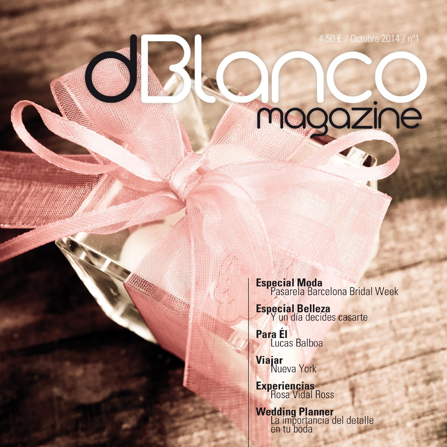 Revista dBlanco magazine by Sonia Barreto - issuu