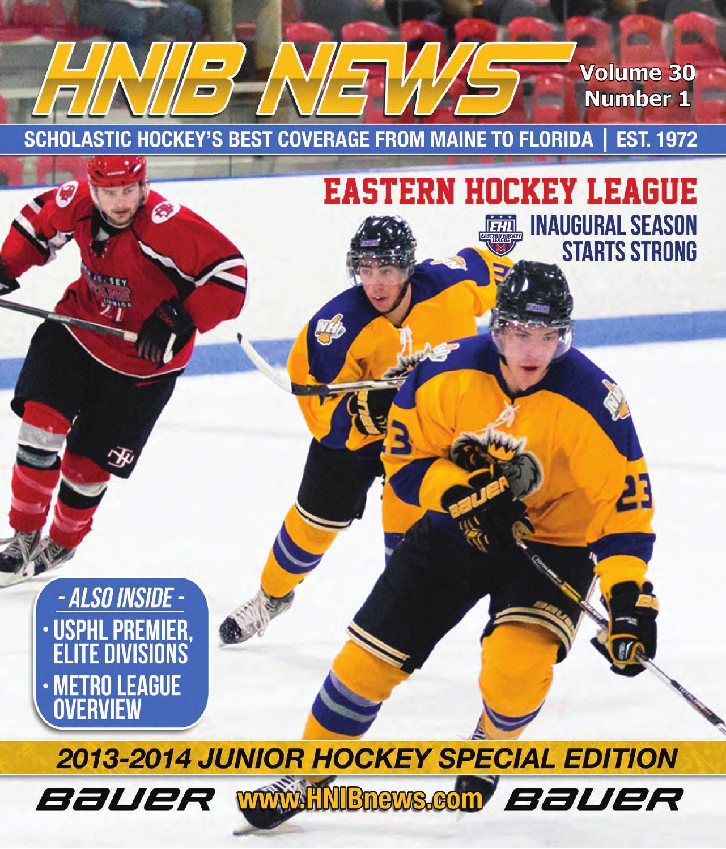 HNIB News - Vol  30 Issue #1 - Junior Hockey Preview by