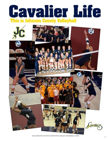 2014 JCCC Volleyball Media Guide by Chris Gray - issuu