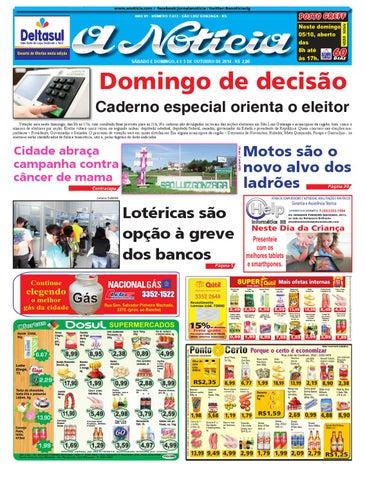 97a4a43b1 Edição de 4 e 5 de outubro de 2014 by Jornal A Notícia - issuu