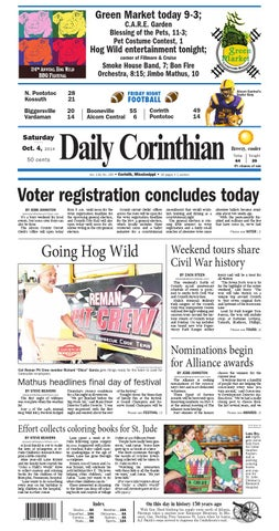 100414 Daily Corinthian E Edition By Daily Corinthian Issuu