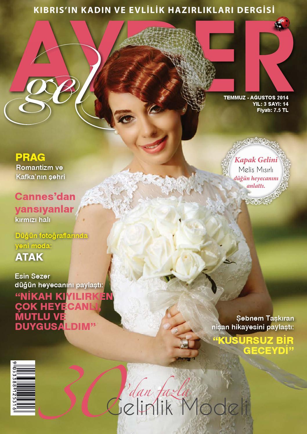 Ayder Gelin Sayı 33 - N.Cyprus Wedding Magazine by ACM I