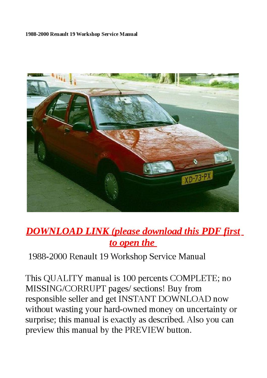 1988 2000 renault 19 workshop service manual by sally mool System Mechanic 11.7.1 System Mechanic 11.7.1