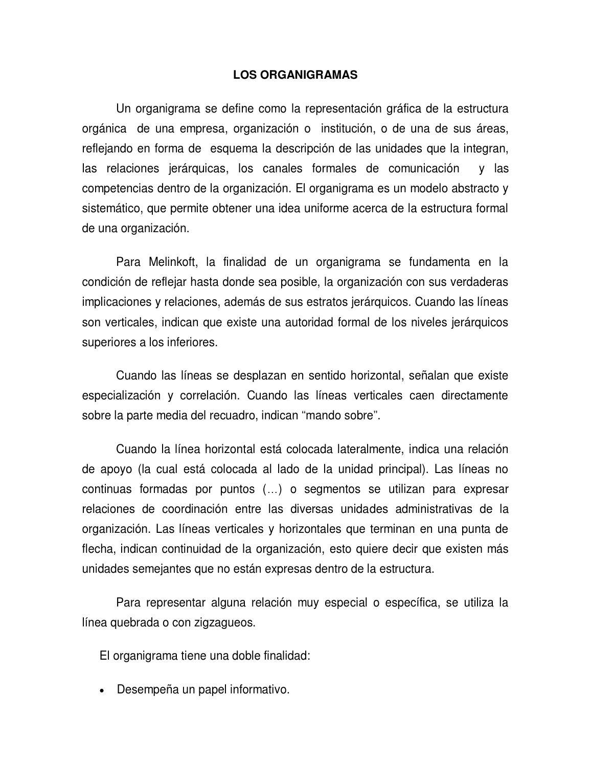 Los Organigramas By Luis Julián Marcial Lorenzo Issuu
