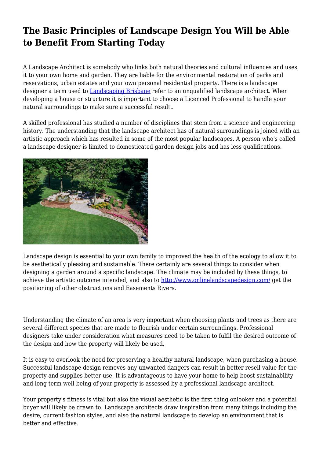 The Basic Principles Of Landscape Design You Will Be Able To Benefit From Starting Today By Guy3344 Issuu,Wood Railing Modern Steel Stair Railing Design