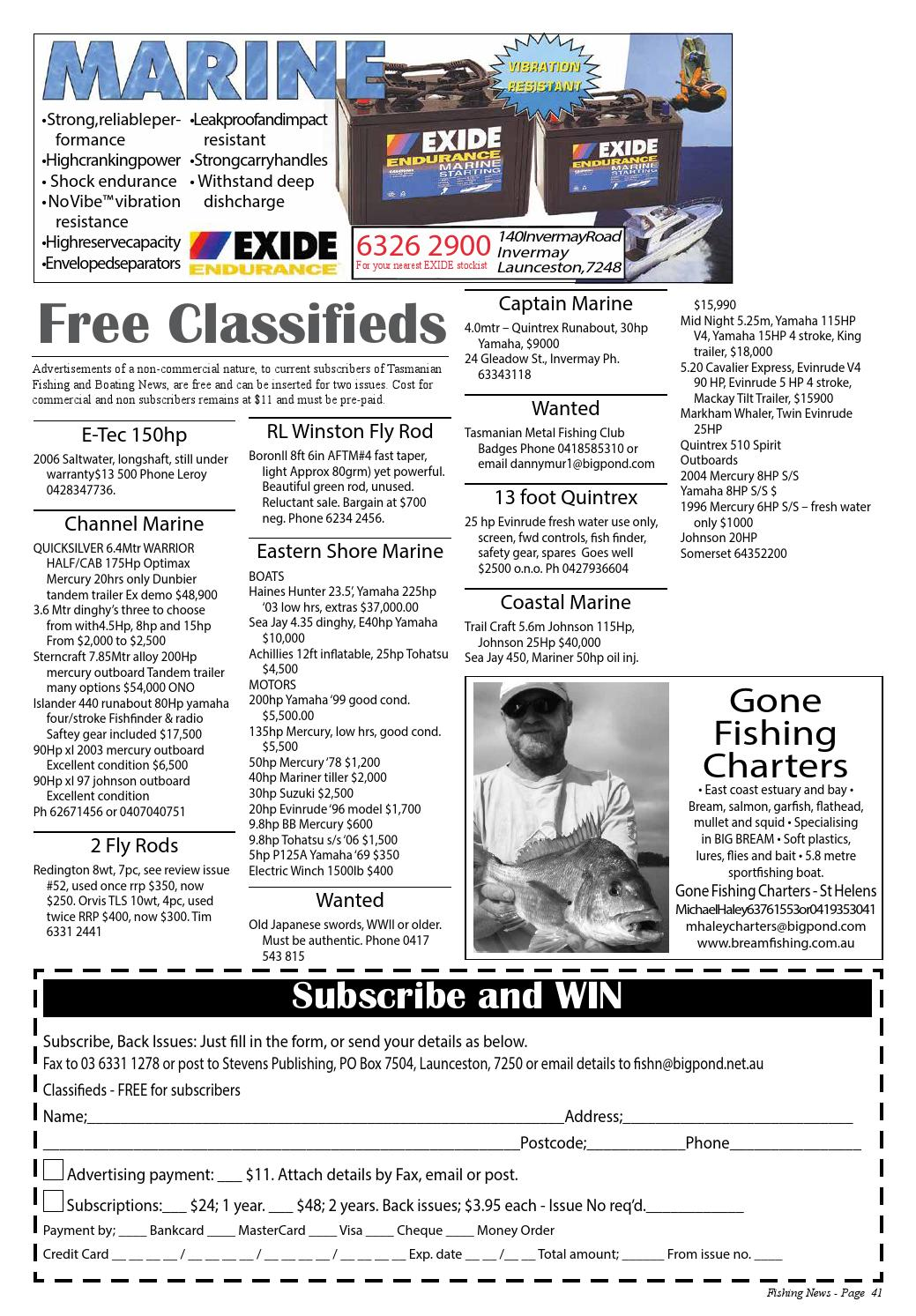 Tasmanian Fishing and Boating News Issue 074 2008 June by