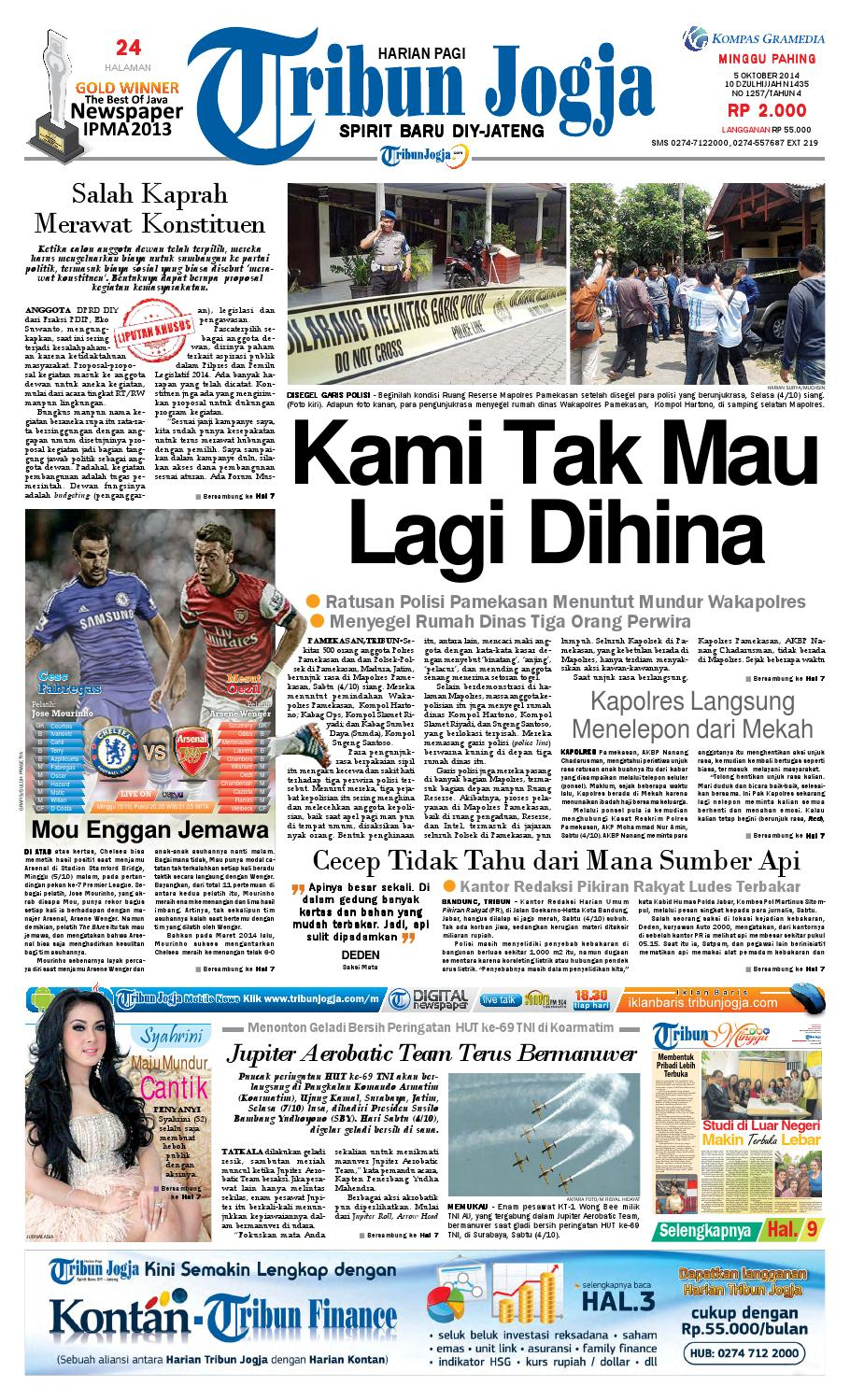 Tribunjogja 05 10 2014 By Tribun Jogja Issuu Loop Hardiknas Voucher Indomaret Rp 200000