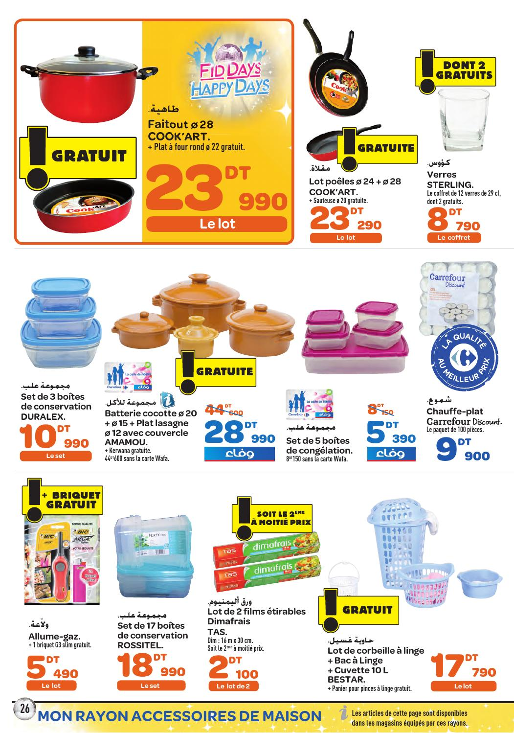 catalogue carrefour market fid days by carrefour tunisie issuu. Black Bedroom Furniture Sets. Home Design Ideas