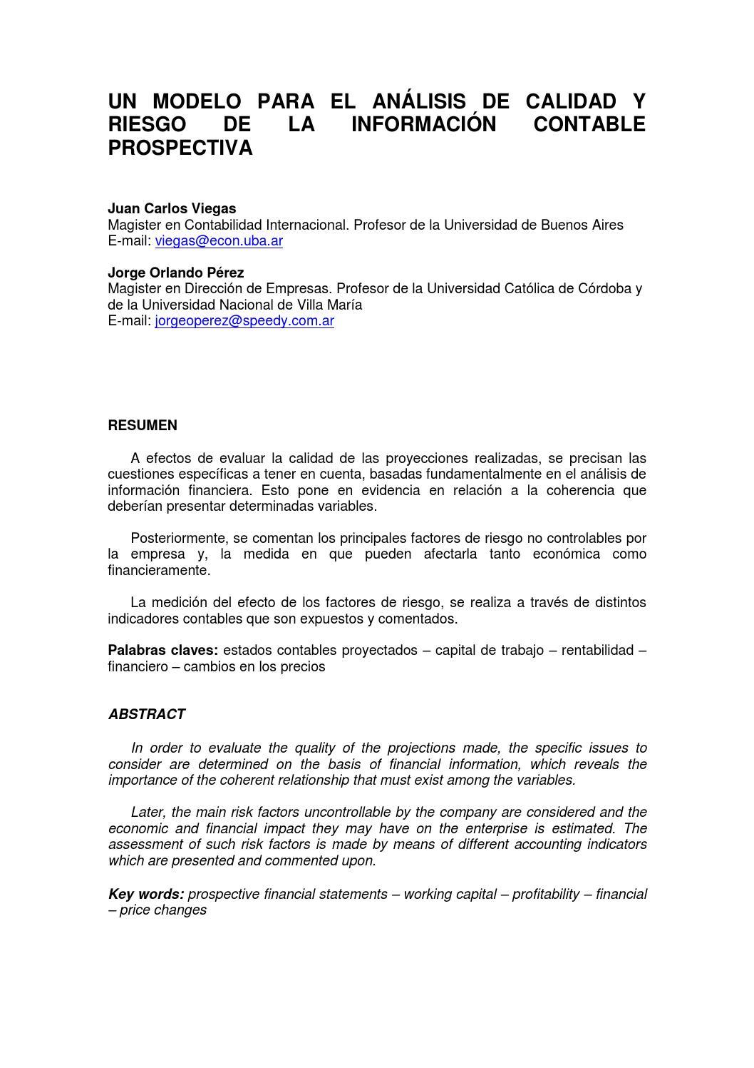 Contabilidad y Decisiones Nro. 1 by contabilidad.decisiones - issuu