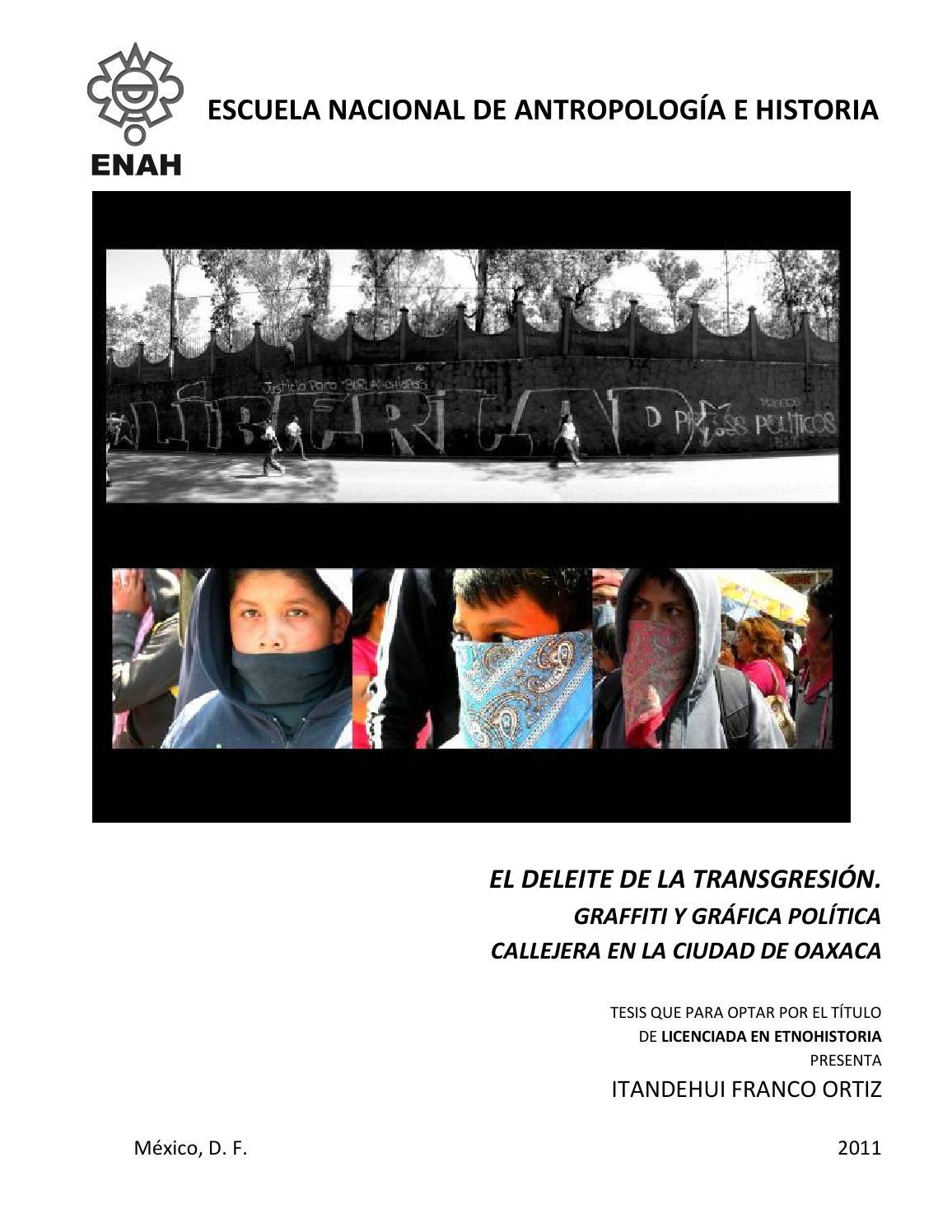 El deleite de la transgresión itandehui franco ortiz by Itandehui