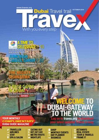 28687e358049 Travex Dubai October 2014 by Travex - Dubai Travel Trail - issuu