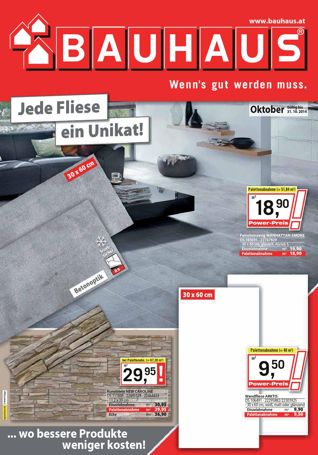 Bauhaus Angebote 1 31 Oktober 2014 By Promoangebote At Issuu