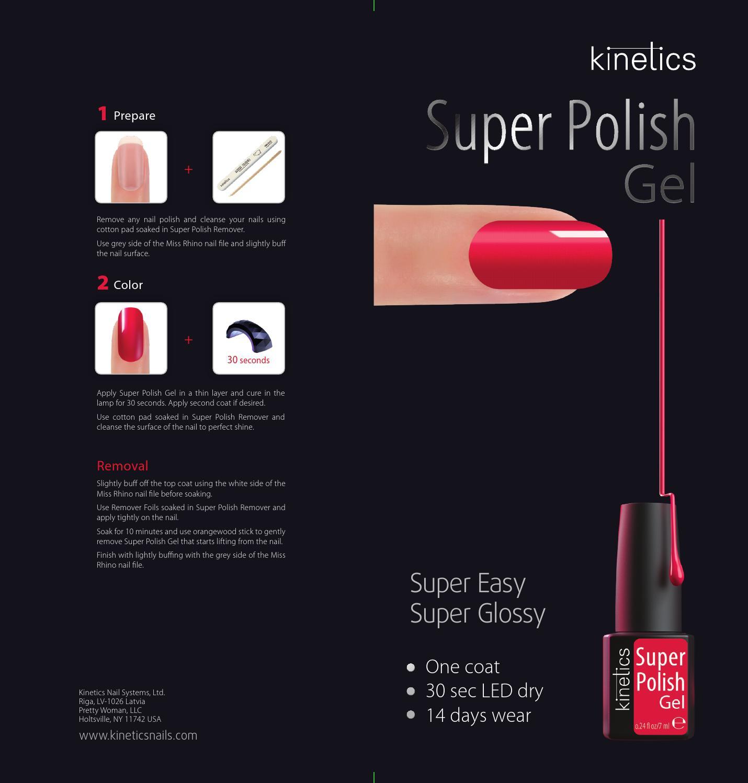 Kinetics Super Polish by Kinetics Nail Systems, Ltd - issuu