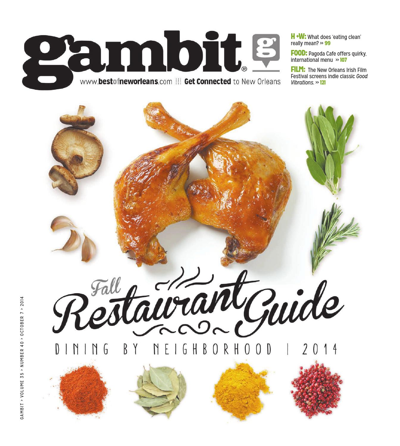 Gambit New Orleans: October 7, 2014 by Gambit New Orleans - issuu