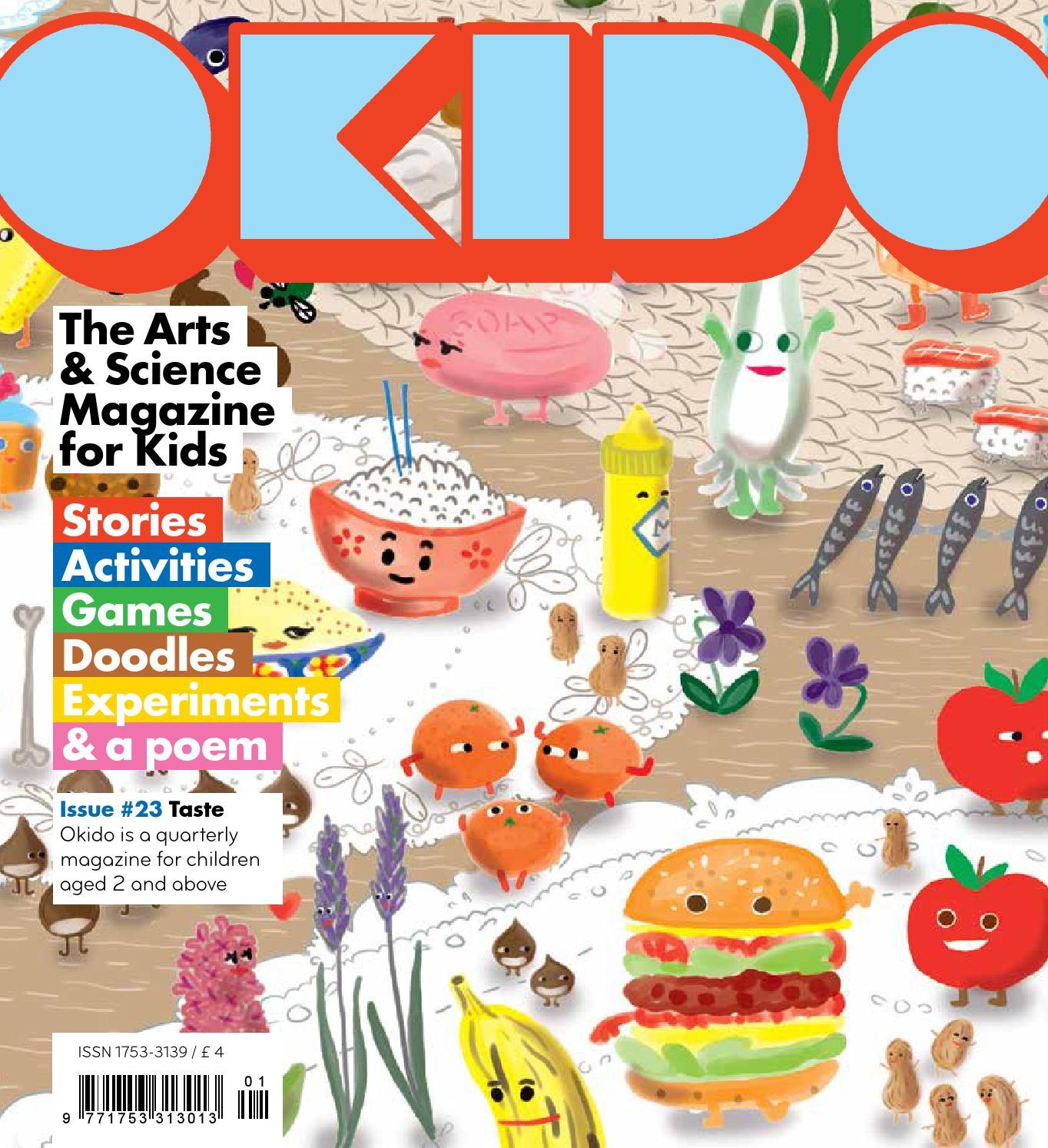 Okido Issue 23 Taste By Okido Magazine Issuu