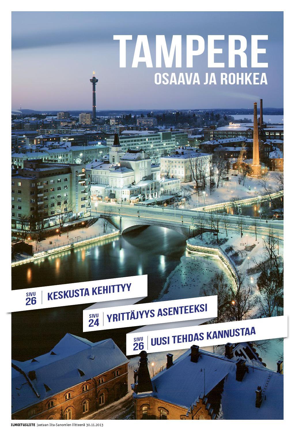 Tampereen kaupungin erikoisjulkaisu 2013 by Crossmedia Communications Finland - Issuu