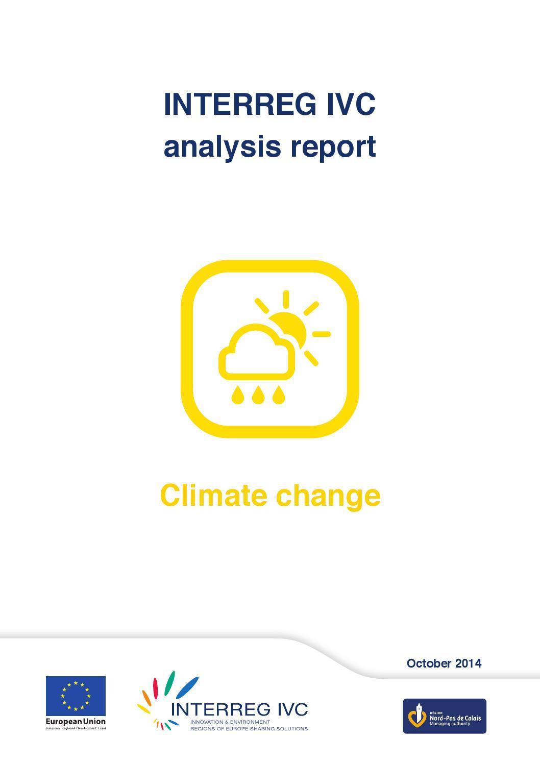 Climate Change By Interreg Europe Issuu