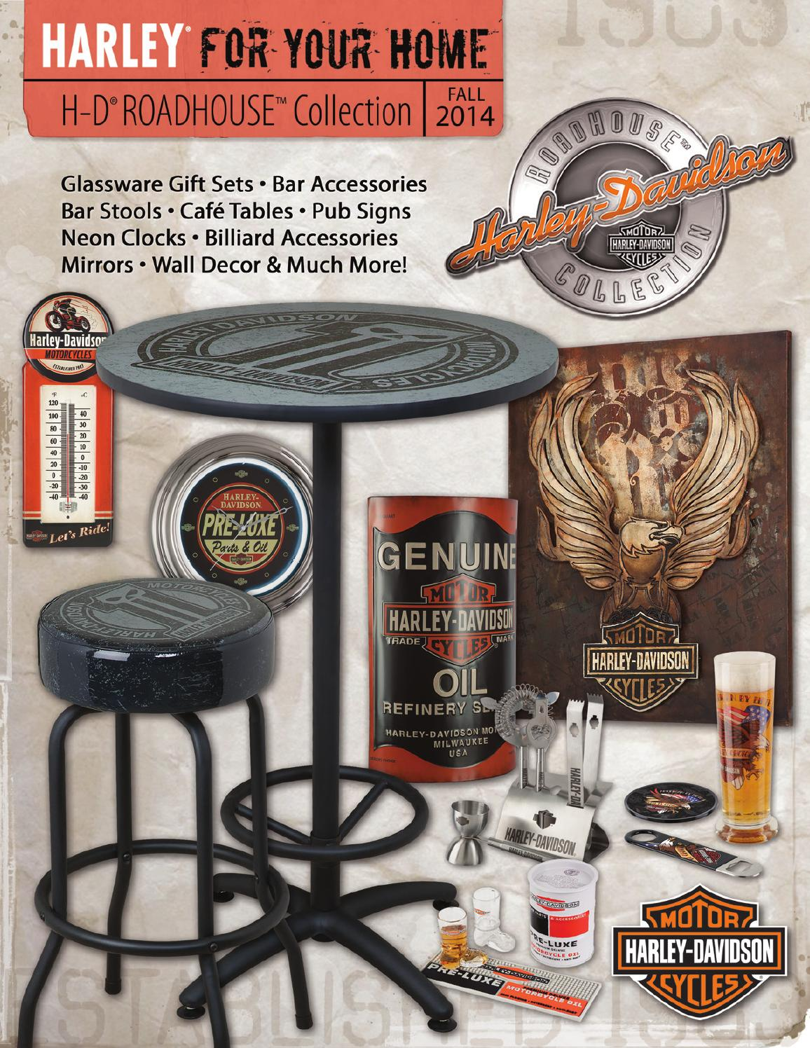 Harley Davidson 174 Roadhouse Collection Fall 2014 Catalog