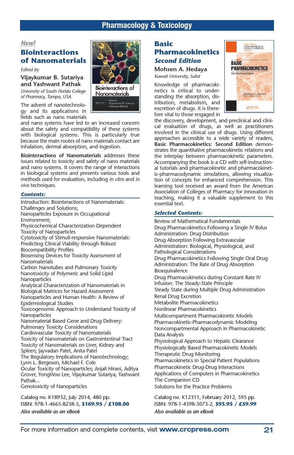 Basic Pharmacokinetics - Mohsen A. Hedaya - Google Books