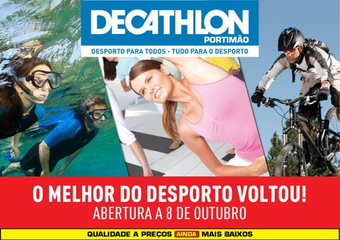 70788a3d3 Folheto abertura Decathlon Portimao by Decathlon Portugal - issuu