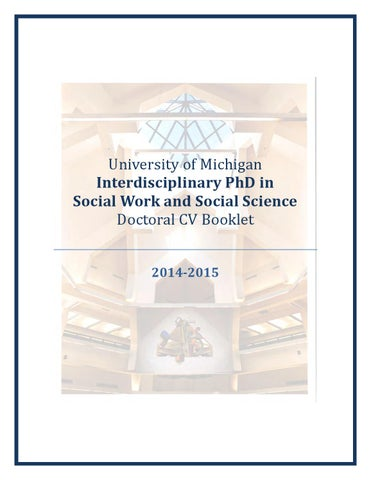 U-M Interdisciplinary PhD in Social Work and Social Science Doctoral ...