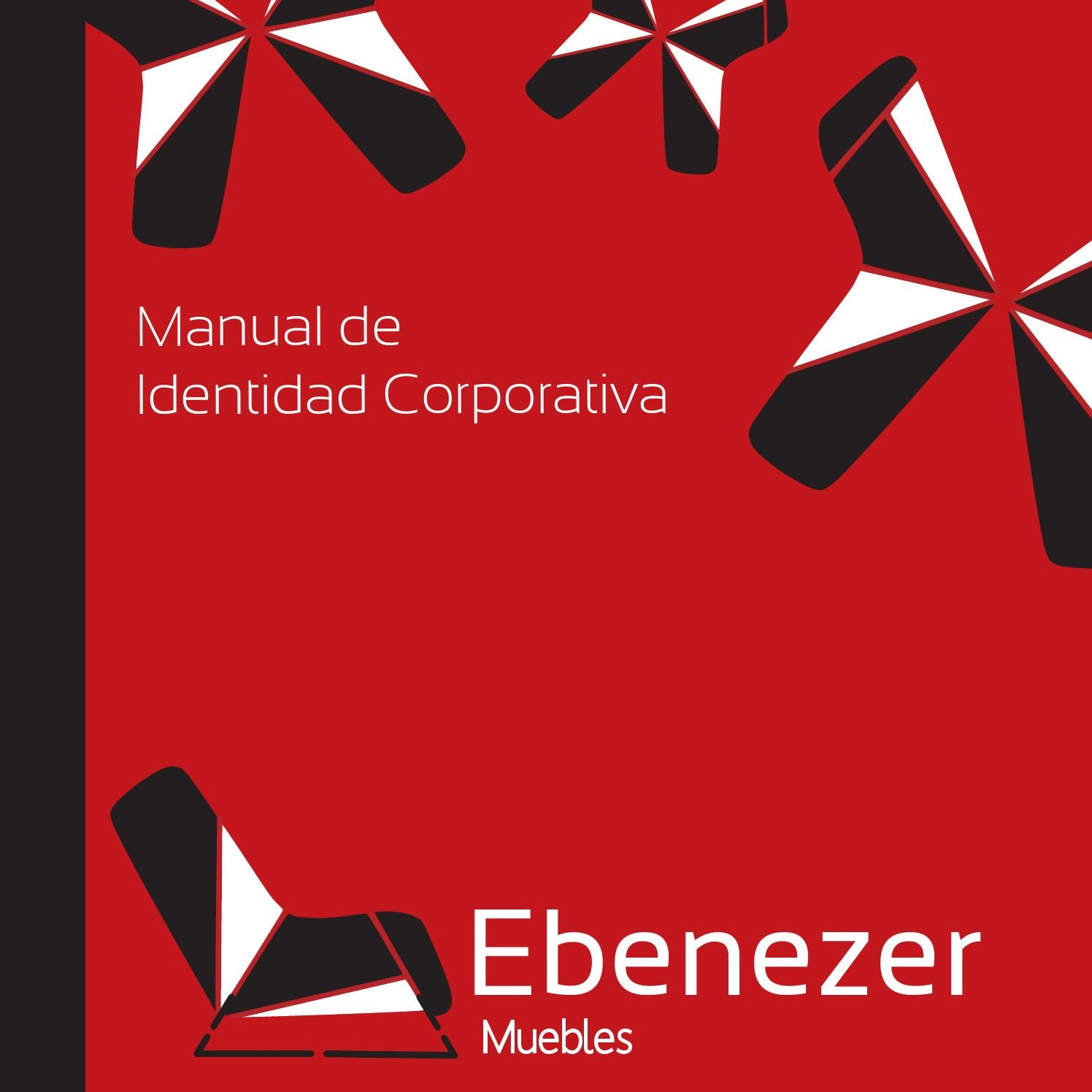 Manual De Identidad Corporativa Ebenezer Muebles By Brayco Laverde  # Muebles Ebenezer
