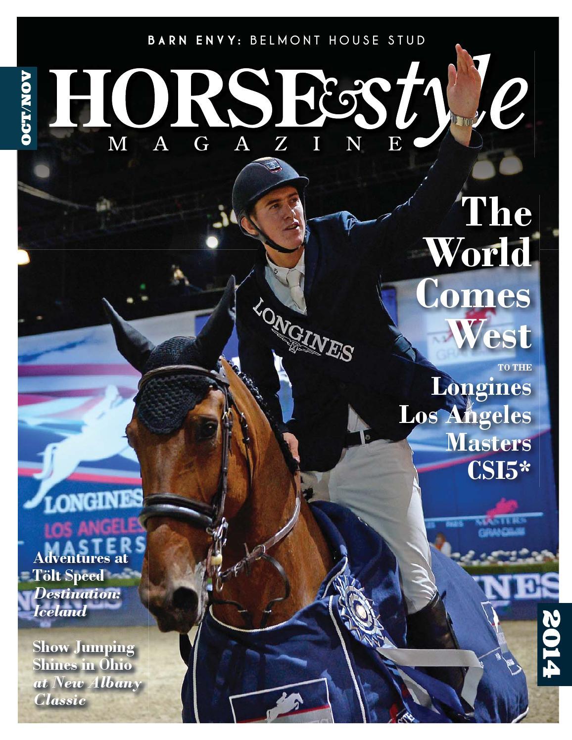Horse & Style Magazine Oct/Nov 2014 by Horse & Style ...
