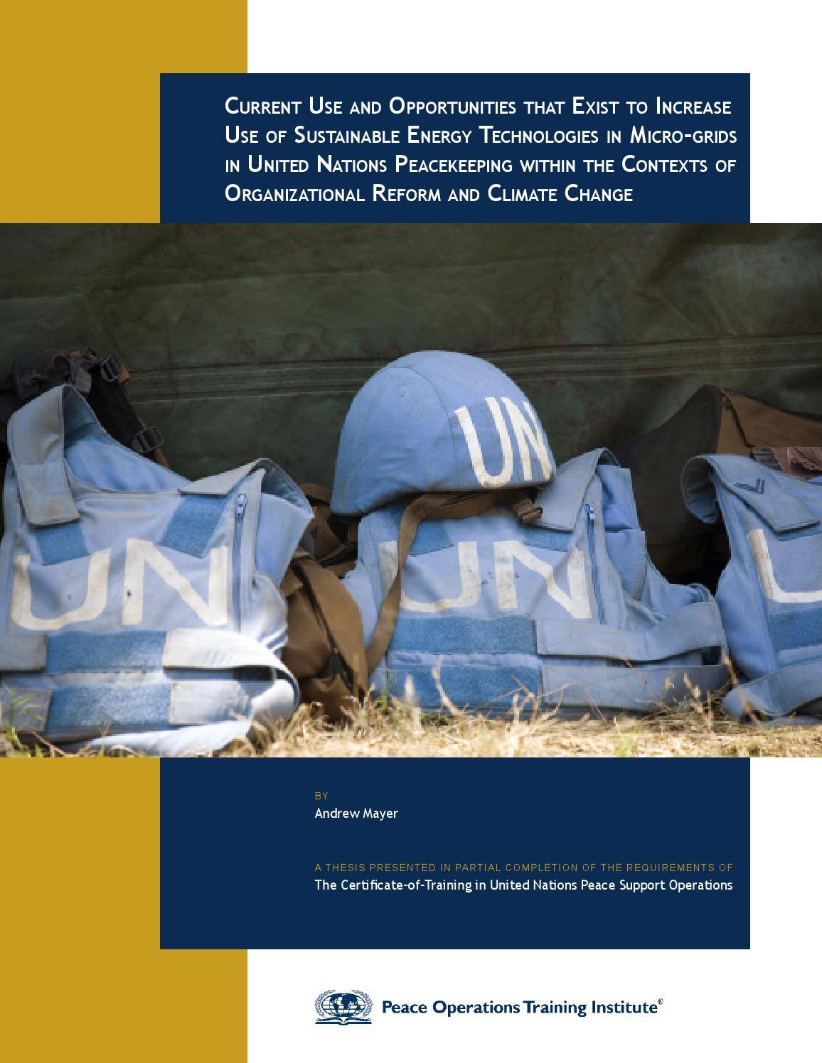 the failure of united nations peacekeeping 3 olusegunobansanjo,thenpresidentofnigeria,successfullyledafricandiplomaticefforts thatresultedinliberianpresidentcharlestaylora.