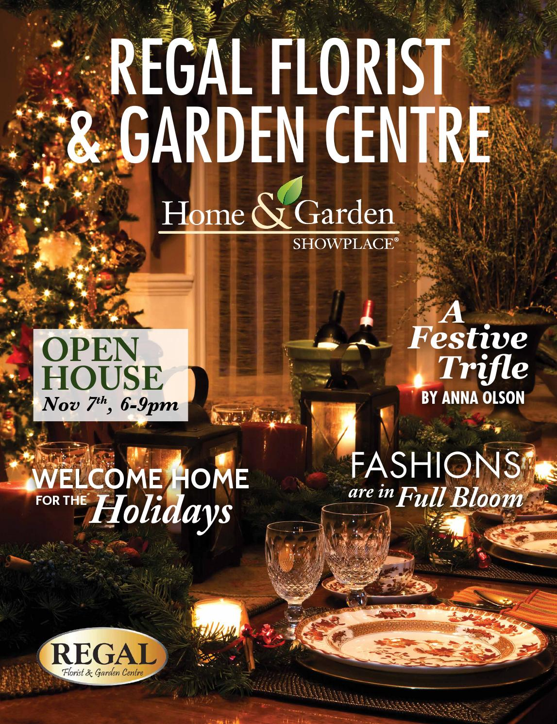 Regal Florist & Garden Centre Holiday 2014 by Country Road Graphics ...