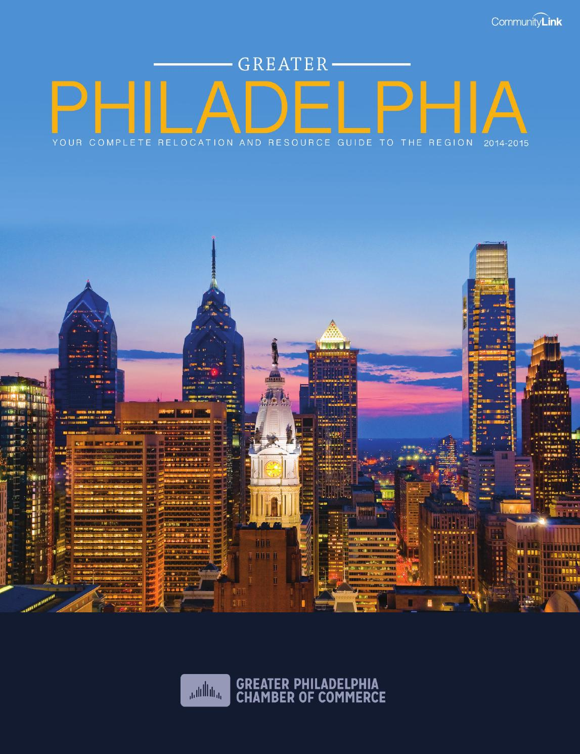 Philadelphia, PA 2014 Relocation and Resource Guide by