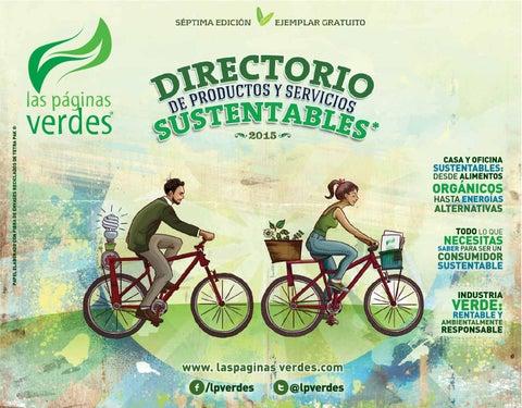 LPV Directorio de productos y servicios verdes México 2015 by Las ... cf0cf174f66