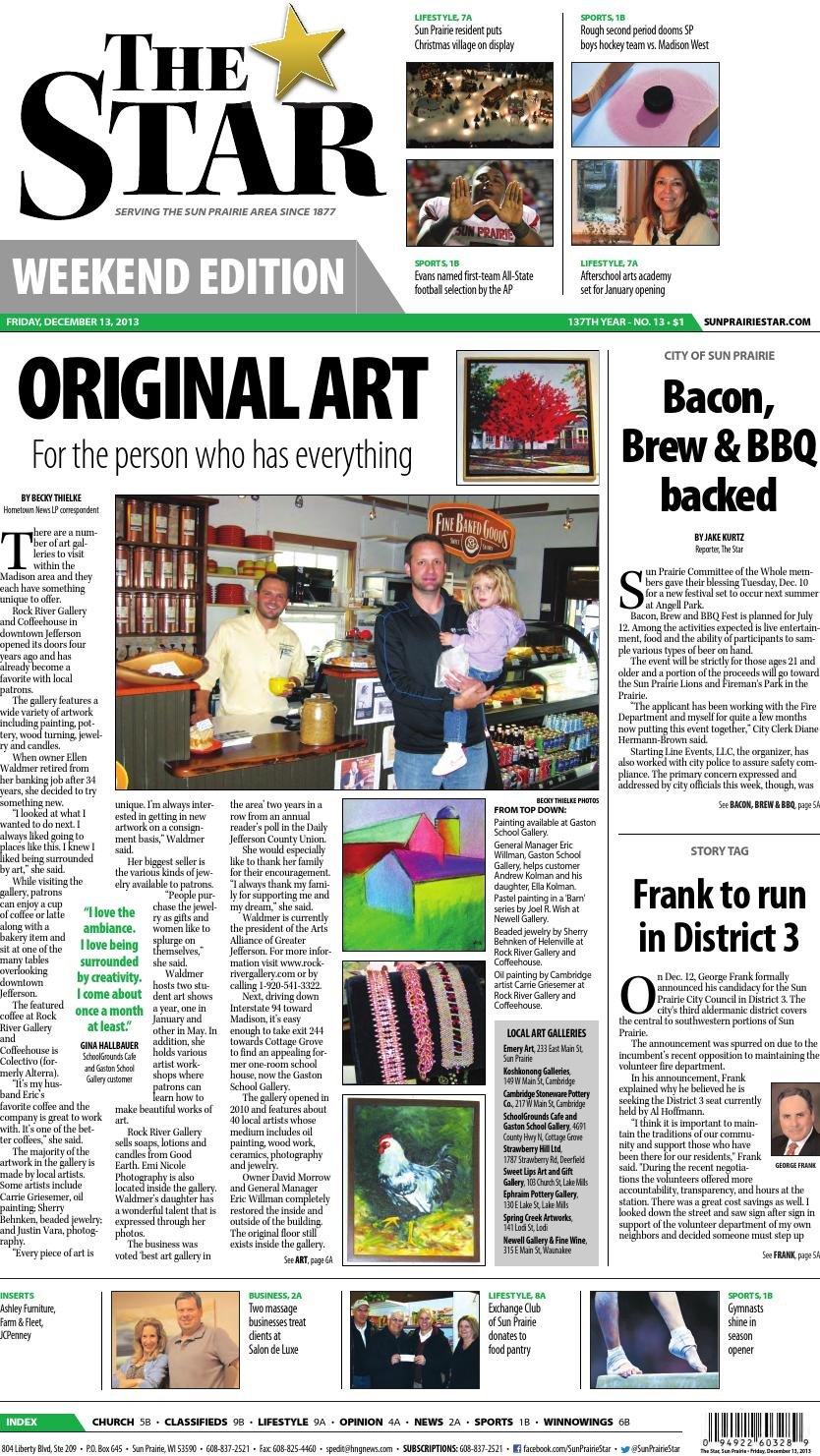 Sun Prairie Star 12/13/13 by DeForest Times-Tribune - issuu