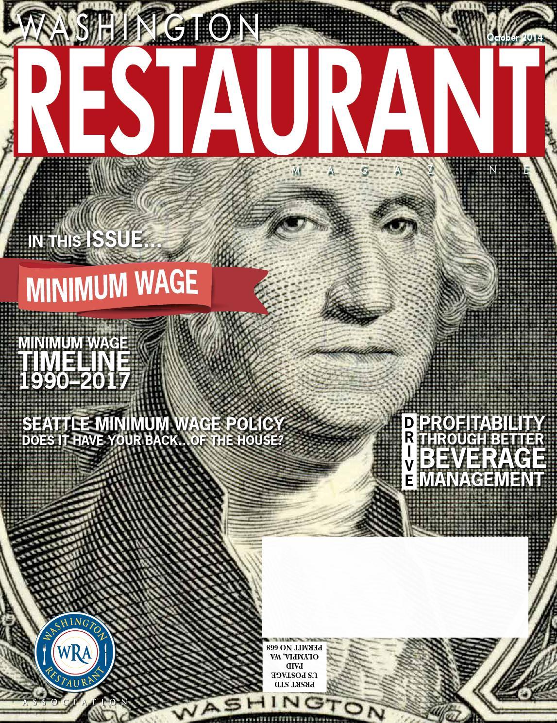 Washington Restaurant Magazine October 2014 By Washington
