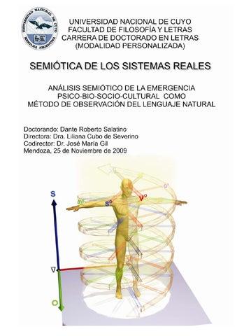 Semiotica de los sistemas reales by Dante Salatino - issuu