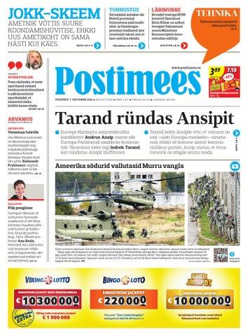 ae7bd926957 Postimees 07 10 2014 by Postimees - issuu