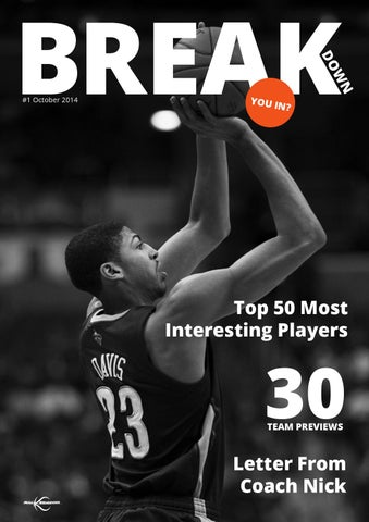 Nba season preview 20142015 by bballbreakdown issuu page 1 publicscrutiny Image collections