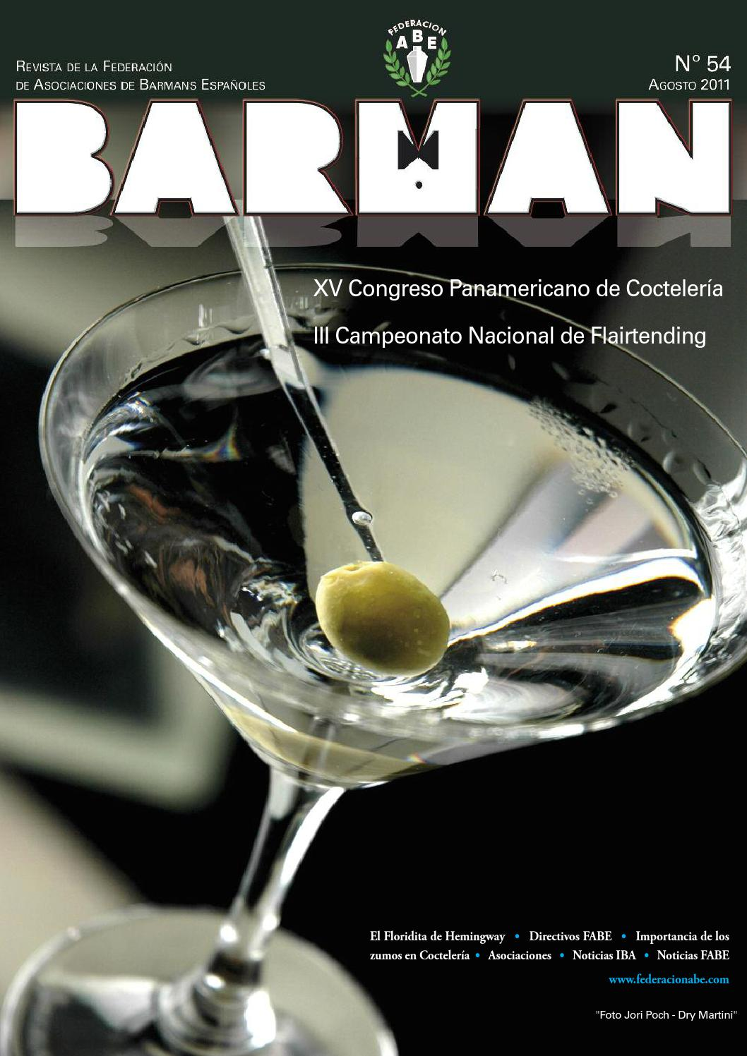 Revista barman 54 by ABE VALENCIA - issuu