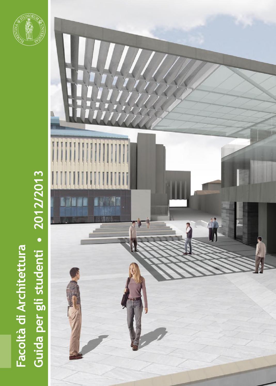 Calendario Tesi Unifi Architettura.Guida Dello Studente 2012 2013 By Dida Issuu