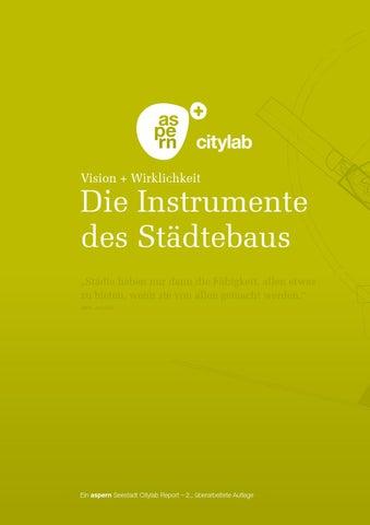 Die Instrumente Des Städtebaus By Aspern Die Seestadt Wiens Issuu