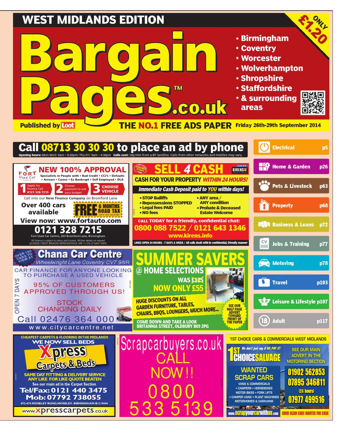 56e95480f459 Bargain Pages WM 2014 09 26 by Loot - issuu